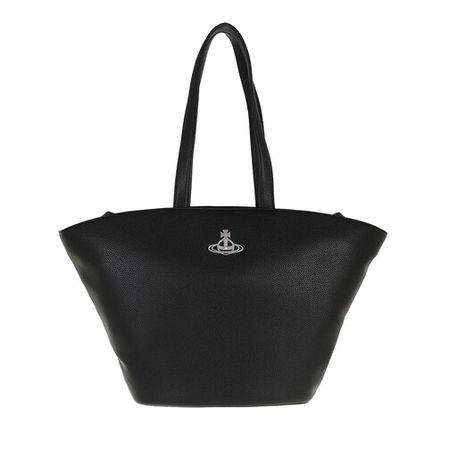 Vivienne Westwood  Shopper - Johanna Curved Tote Bag - in black - für Damen