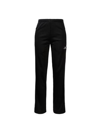 Balenciaga  - Trackpants mit weitem Bein Schwarz/Weiß schwarz