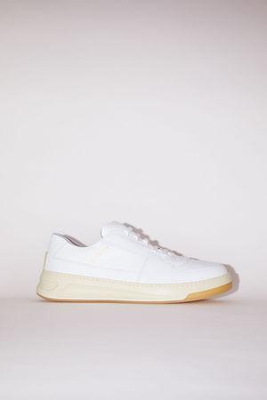 Acne Studios  Perey Lace Up Weiß/Weiß Sneakers zum Schnüren
