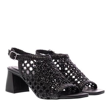 What For  Sandalen & Sandaletten - Hada Block Heel Sandals - in schwarz - für Damen