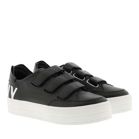 DKNY  Sneakers  -  Savi Velcro Sneaker Black/White  - in schwarz  -  Sneakers für Damen grau