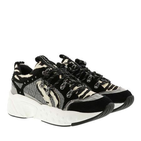 DKNY  Sneakers  -  Avi Sneaker Black/White  - in schwarz  -  Sneakers für Damen schwarz