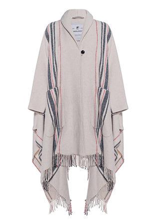 Woolrich  Blanket Cream Damen Creme braun
