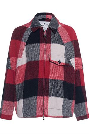 Woolrich  Buffalo Karo Jacket Multicolor Damen Multicolor braun