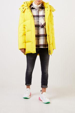 Woolrich  - Daunenjacke 'Aurora' mit Kapuze Gelb