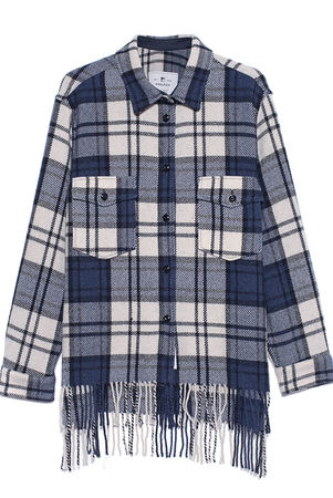 Woolrich  Explorer Shirt Blue Damen Blau grau