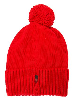 Woolrich Haube aus Wolle in Rot rot