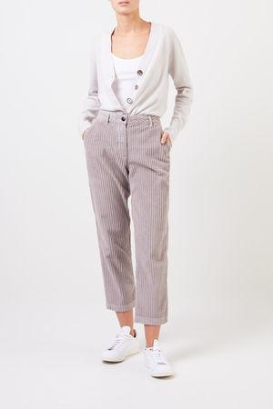 Woolrich  - Klassische Cord-Hose Grau 100% Baumwolle