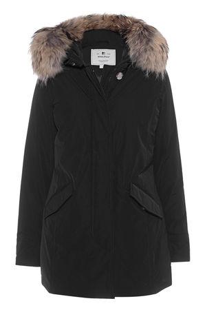 Woolrich  Luxury Arctic Parka Black Damen Schwarz schwarz
