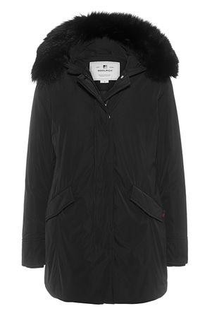 Woolrich  Luxury Arctic Parka Fox Black Damen Schwarz schwarz