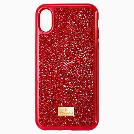 Swarovski Glam Rock Smartphone Schutzhülle, iPhone® X/XS, rot weiss