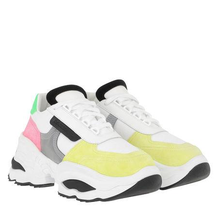 Dsquared2  Sneakers  -  The Giant Hike Sneaker White/Yellow  - in weiß  -  Sneakers für Damen grau